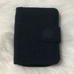 Kipling New Money Black Nylon Small Wallet w842F